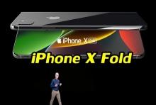 ชมภาพคอนเซ็ปต์ iPhone X Fold : จอพับดีไซน์เรียบหรูสุดงดงาม
