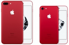 """แอปเปิล เปิดตัว ไอโฟน7-7พลัส รุ่นพิเศษ """"สีแดง"""""""